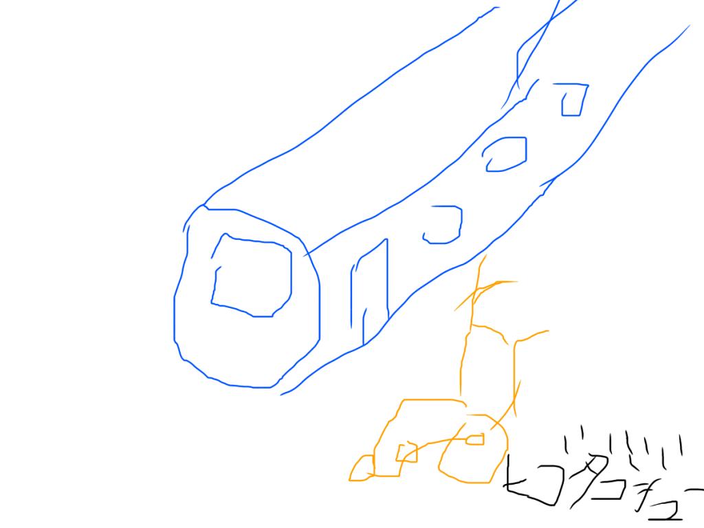 電車と車いす